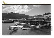 Merchants Wharf In Black And White Carry-all Pouch