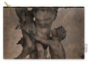 Mercury Carrying Eurydice To The Underworld Carry-all Pouch by Loriental Photography