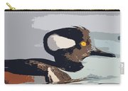 Merganser Reflections Carry-all Pouch