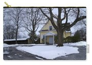 Merion Meeting House - Narberth Pa Carry-all Pouch by Bill Cannon