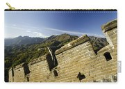 Merlon View At The Great Wall 1046 Carry-all Pouch