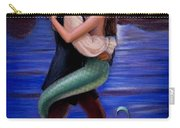 Mermaid And Pirate's Caribbean Love Carry-all Pouch