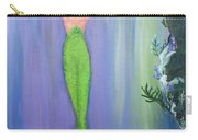 Mermaid And Treasure Chest  Carry-all Pouch