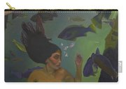 Mermaid At 52 Carry-all Pouch