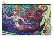 Mermaid Gargoyle Carry-all Pouch