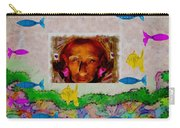 Mermaid In Her Cave Carry-all Pouch