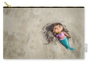 Mermaid In The Sand Carry-all Pouch