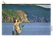 Mermaid On A Dock In Twillingate Harbour-nl Carry-all Pouch