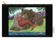 Mermaids Bear Cathy Peek Fantasy Art Carry-all Pouch