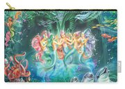 Mermaids Danicing Carry-all Pouch
