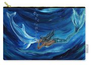 Mermaids Dolphin Buddy Carry-all Pouch