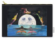 Mermaids Jumping Over Moon Cathy Peek Carry-all Pouch