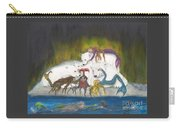 Mermaids Polar Bears Cathy Peek Fantasy Art Carry-all Pouch