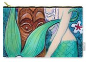 Mermaid's Tiki God Carry-all Pouch