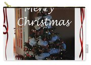 Merry Christmas - Greeting Card - Christmas Tree - Ribbons Carry-all Pouch