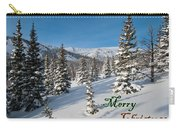 Merry Christmas - Winter Wonderland Carry-all Pouch