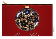 Merry Christmas Bauble Carry-all Pouch
