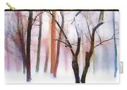 Merry Christmas Card Carry-all Pouch by Jessica Jenney