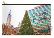 Merry Christmas From Philadelphia Carry-all Pouch