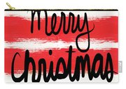 Merry Christmas- Greeting Card Carry-all Pouch