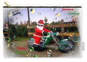 Merry Christmas  Seasons Greetings  Happy New Year Carry-all Pouch
