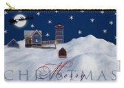 Merry Christmas Carry-all Pouch by Susan Candelario
