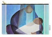 Merry Christmas Virgin Mary And Child  Carry-all Pouch