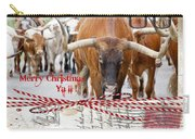 Longhorns Merry Christmas Ya'll Carry-all Pouch