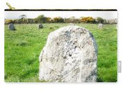 Merry Maidens Stone Circle Cornwall Carry-all Pouch