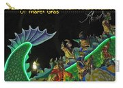 Merry Maskers Of Mardi Gras Carry-all Pouch