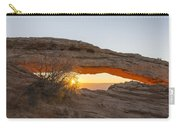 Mesa Arch Sunrise 3 - Canyonlands National Park - Moab Utah Carry-all Pouch