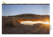 Mesa Arch Sunrise 7 - Canyonlands National Park - Moab Utah Carry-all Pouch