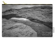 Mesa Arch Sunrise Bw Carry-all Pouch