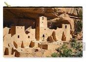 Mesa Verde National Park Cliff Palace Pueblo Anasazi Ruins Carry-all Pouch