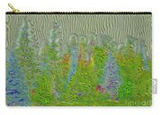 Meshed Tree Abstract Carry-all Pouch by Liane Wright