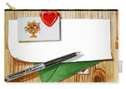 Message From The Heart Carry-all Pouch