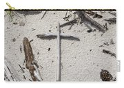 Message In The Sand Carry-all Pouch by Benanne Stiens