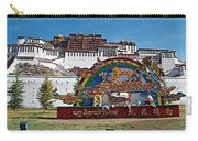 Message Of Joy From Potala Palace In Lhasa-tibet  Carry-all Pouch
