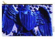 Metal American Eagle Symbol Carry-all Pouch