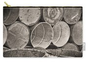 Metal Barrels 2bw Carry-all Pouch
