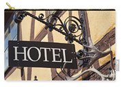 Metal Hotel Sign Carry-all Pouch