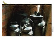 Metal Jugs By Window Carry-all Pouch