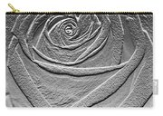 Metal Rose Carry-all Pouch