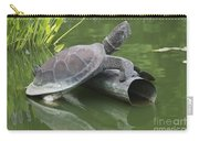Metal Turtle Carry-all Pouch