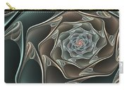 Metallic Elegance Carry-all Pouch
