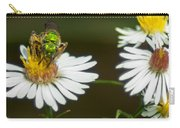 Metallic Green Wasp Carry-all Pouch