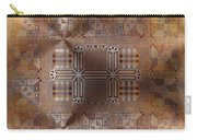 Metallic Pattern Carry-all Pouch