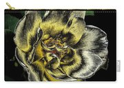 Metallic Rose Carry-all Pouch
