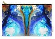Metamorphosis - Abstract Art By Sharon Cummings Carry-all Pouch