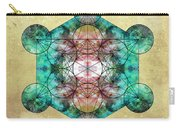 Metatron's Cube Carry-all Pouch by Filippo B